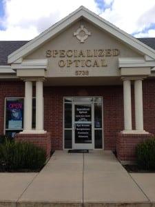specialized optical optometrist